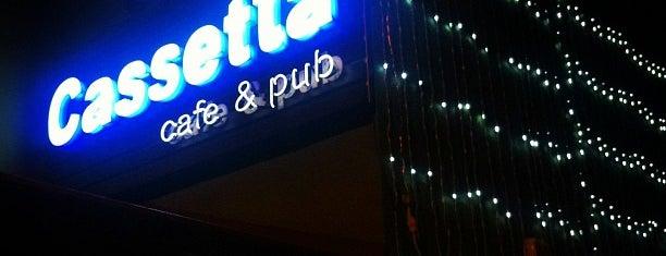 Cassetta Cafe&Pub is one of Ankara'nın Kaliteli Mekanları.