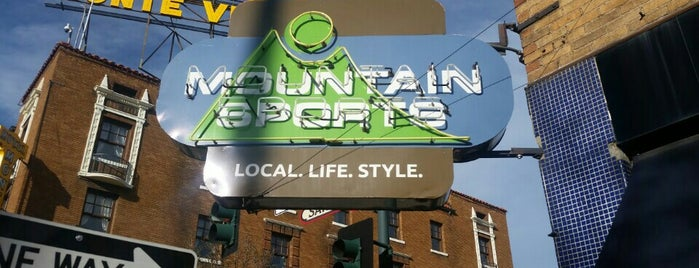 Mountain Sports is one of Be Vocal, Shop Local.