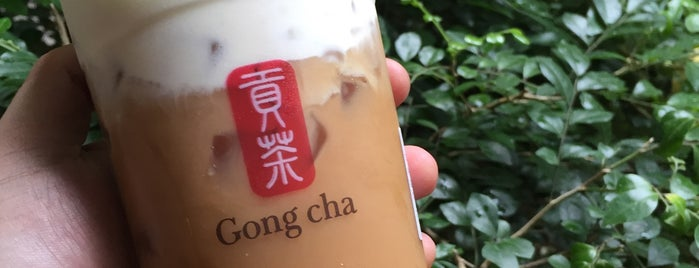 Gong Cha is one of Best Bubble Tea Stores in Manila.