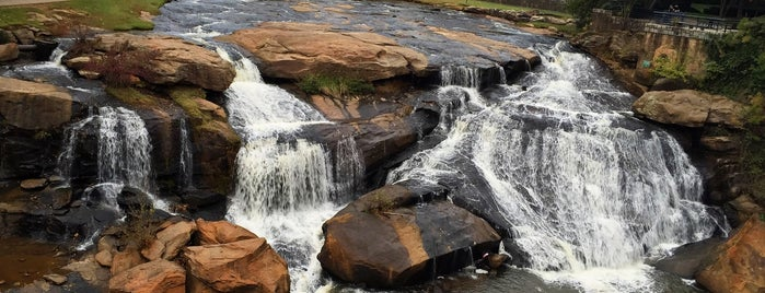Falls Park On The Reedy is one of Birds, Mountains, and Lakes, Oh My!.