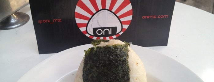 ONI (Roma) is one of Guía Changarreando del Reforma.