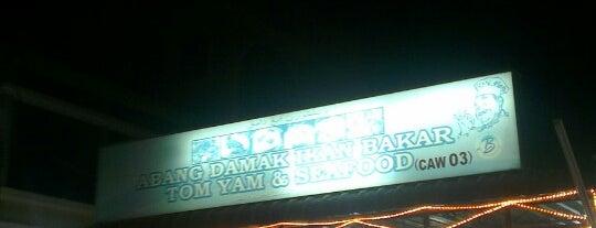Abang Damak Ikan Bakar Tom Yam & Seafood is one of My hangout in Terengganu.