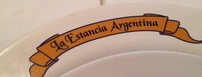 La Estancia Argentina is one of Restaurantes.