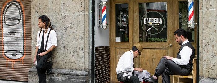Barbería Capital (Roma) is one of Capitalino..