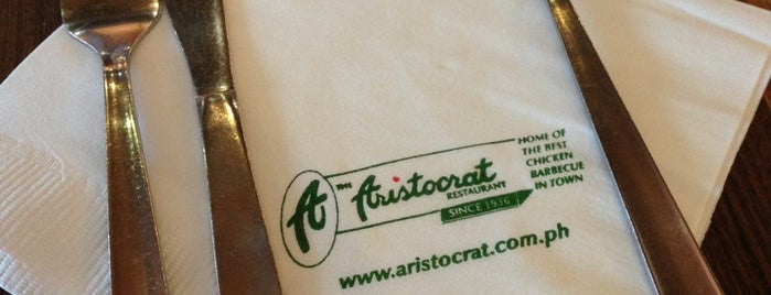 The Aristocrat is one of Manila + Pasay Eats.