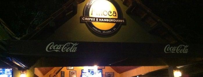 Miloca Crepes e Hamburgues is one of Arraial D'ajuda.