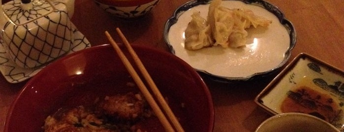Harajuku Kitchen is one of Gluten-Free Edinburgh.