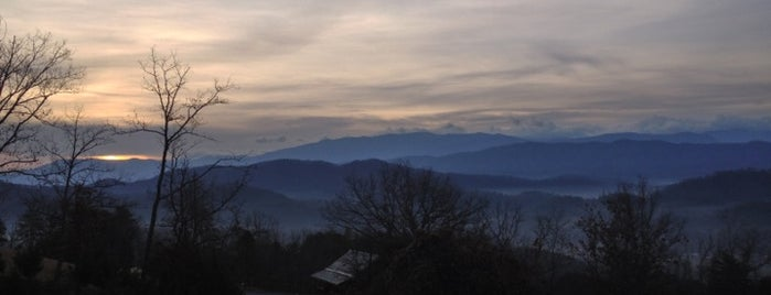 A Peaceful Getaway Rental Cabin by Cabin Fever Vacations is one of Home Theater Cabins in the Smokies.