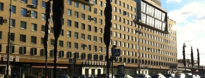 Универмаг «Московский» is one of TOP-100: Торговые центры Санкт-Петербурга.