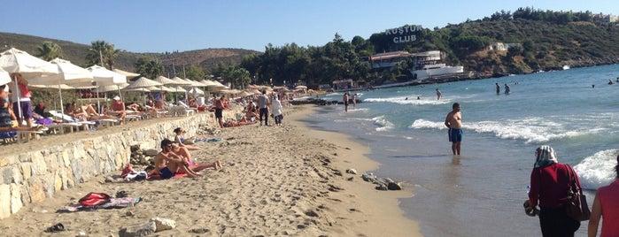 Kuştur Plajı is one of Kuşadası ...
