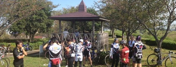 運河河口公園 is one of サイクリング.