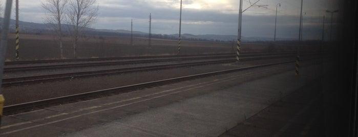 Železniční stanice Opava-Komárov is one of Linka S1/R1 ODIS Opava východ - Český Těšín.