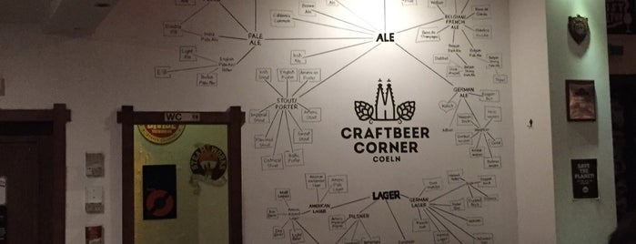 Craftbeer Corner is one of to-dos cologne.