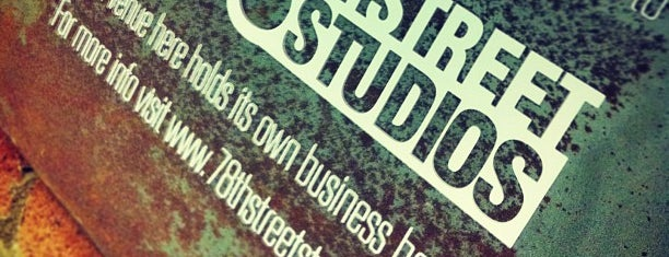 78th Street Studios is one of Places tried: recommend.
