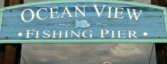 Ocean View Fishing Pier is one of Favorite Restaurants in Tidewater.