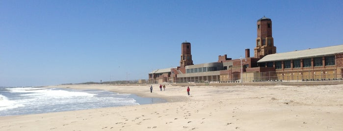 Jacob Riis Park is one of The 50 Most Popular Beaches in the U.S..