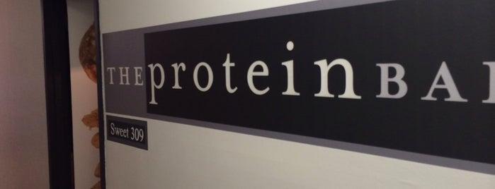 The Protein Bakery is one of Baker's Dozen - New York Venues.