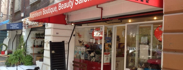 Napoleon Boutique, Beauty Salon & SPA is one of Pomadas Verdan.