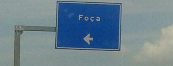 Foça Kavşağı is one of İzmir - Çanakkale Yolu (D550) [E87].