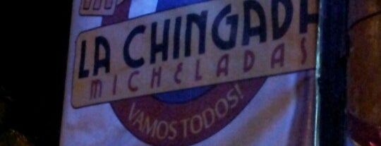 La Chingada Micheladas is one of Approved Pubs.