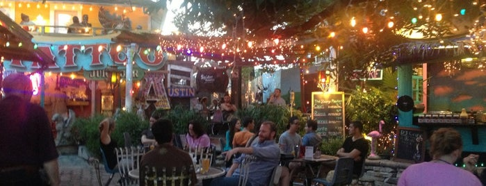 Spider House Patio Bar & Cafe is one of Austin.
