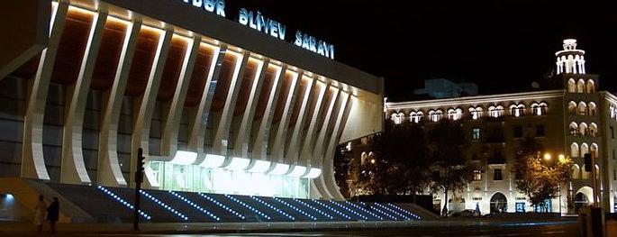 Heydər Əliyev Sarayı is one of Baku.