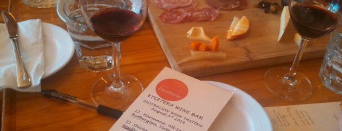 Etcetera Wine Bar is one of The San Franciscans: Happy Hour.