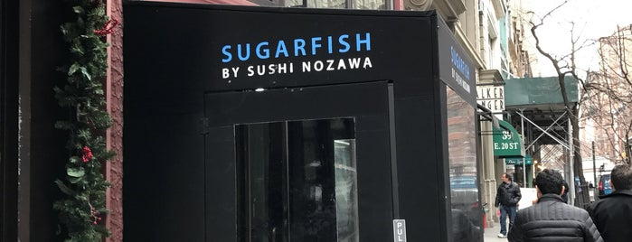Sugarfish is one of 2017 NYC Hit List.