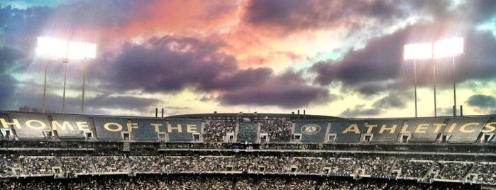 O.co Coliseum is one of My favorites for Stadiums.