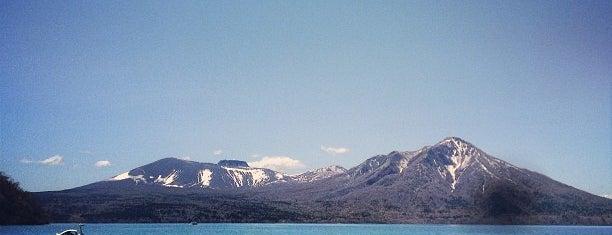 Shikotsuko Lake is one of 楽.