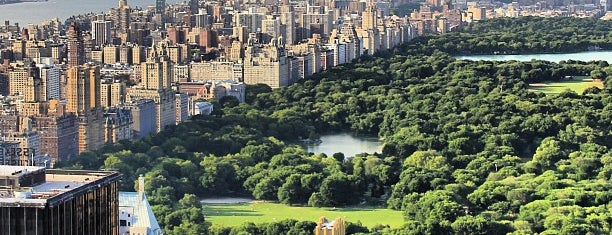 Central Park is one of New York for the 1st time !.