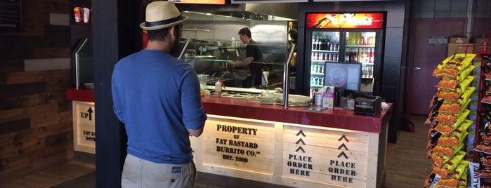 Fat Bastard Burrito Co. is one of Waterloo.