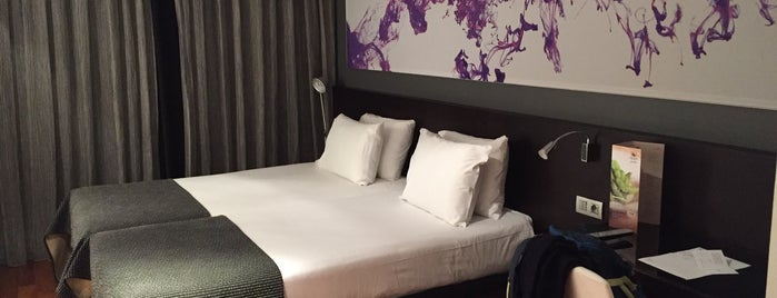 Eurostars Lex Hotel is one of Lugares LH.
