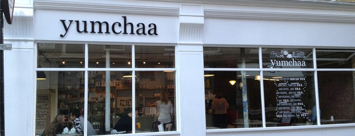 Yumchaa is one of Cafés with Wifi and Plugs.