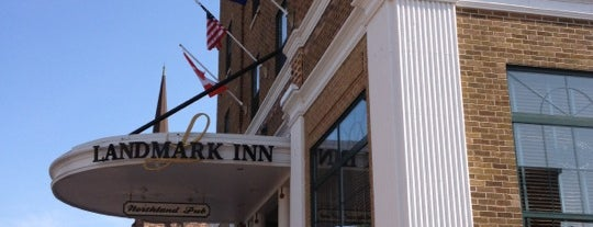 Landmark Inn is one of Da Yoop.