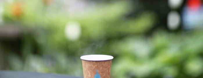 Blue Bottle Coffee is one of New York best coffee shops: the ultimate list.