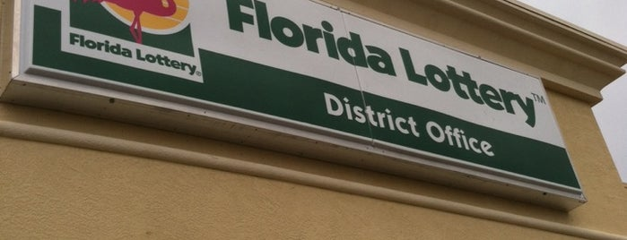 Florida Lottery Office is one of To Do in....
