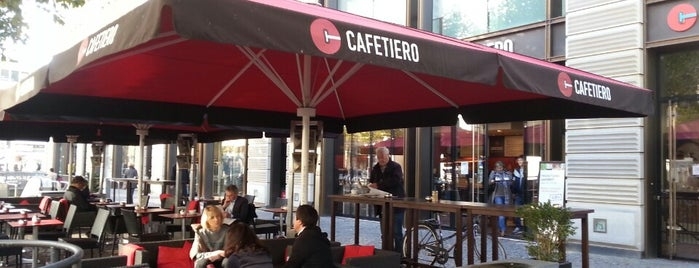 Cafetiero is one of Barometer Frankfurt 2014 - Teil 1.