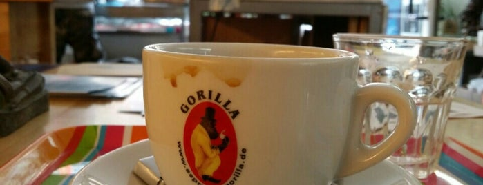 gorilla cafe is one of Frankfurt Cafe.