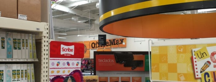 Office Max is one of Descuentos con IDENTIDAD-UABC.