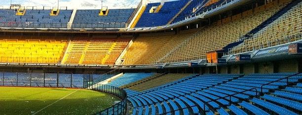 "Estadio Alberto J. Armando ""La Bombonera"" (Club Atlético Boca Juniors) is one of Roteiro: Buenos Aires, Argentina."