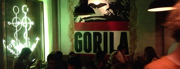 Gorila is one of madrid. Beber y comer.