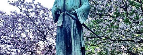 和気清麻呂像 is one of 東京銅像MAP.