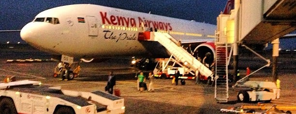 Jomo Kenyatta International Airport (NBO) is one of Airports - worldwide.