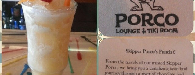 Porco Lounge & Tiki Room is one of The 15 Best Places with a Happy Hour in Cleveland.