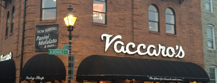 Vaccaro's Italian Pastry Shop is one of Ssh! These places aren't for everybody..