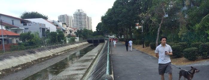 Siglap Park Connector is one of Trek Across Singapore.