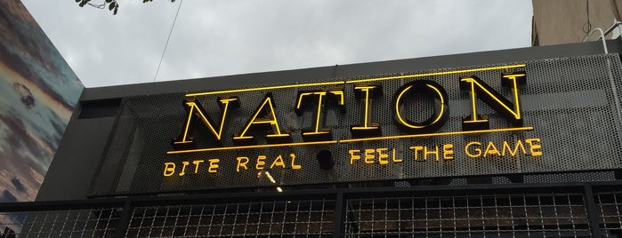 Nation - Sports Bar is one of To try.