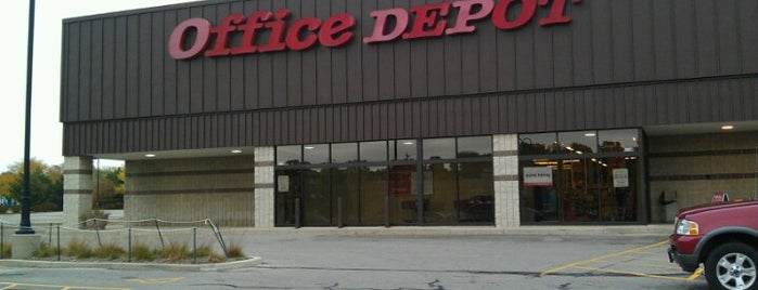 Office Depot - CLOSED is one of Guide to Greenfield's best spots.
