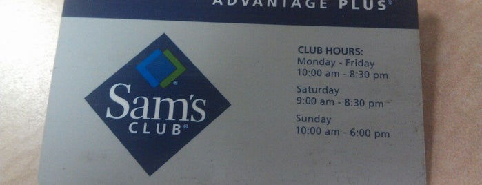 Sam's Club is one of Guide to West Allis.